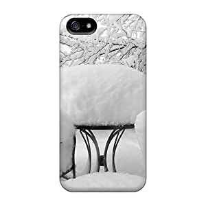 Tpu Case For Iphone 5/5s With Snow Covered