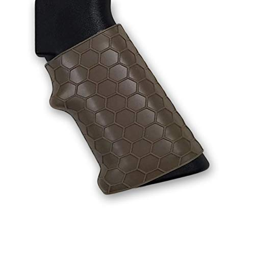 - Covert Clutch | Universal Tactical Grip Sleeve with Hex Pattern (Flat Dark Earth)