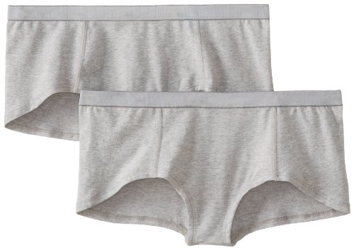 Organic+cotton+underwear Products : PACT Women's Everyday Boyshort 2-Pack