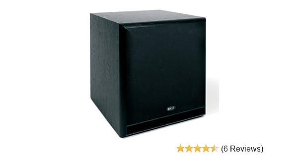 Amazon com: KEF C4 Subwoofer - Black (Single): Home Audio & Theater