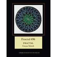 Fractal 696: Fractal Cross Stitch Pattern