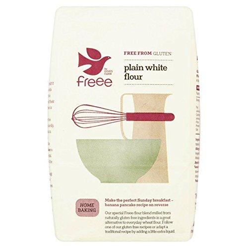 Doves Farm Gluten & Wheat Free Plain White Flour Blend - 1kg (2.2lbs)