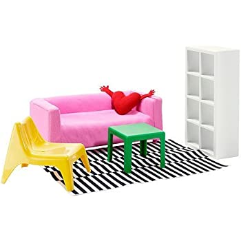 Amazon.com: 1 X Ikea\'s HUSET Doll furniture, living room by ...