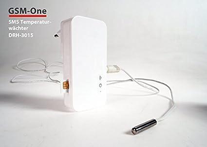 Sensor de temperatura GSM con alarma de congelación, SMS en ...