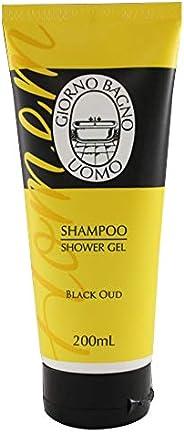 Shampoo Shower Gel Black Oud, Giorno Uomo