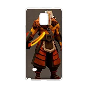 Samsung Galaxy Note 4 Cell Phone Case White Defense Of The Ancients Dota 2 JUGGERNAUT 007 JU3463832