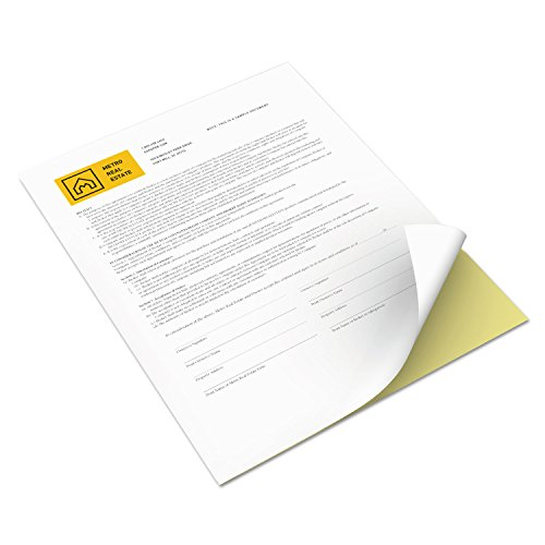 Xerox 3R12420 Revolution Digital Carbonless Paper, 8 1/2 x 11, White/Canary, 5,000 Sheets/CT by Xerox (Image #3)