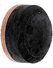 IPOTCH 14mm Gris Suave Taco de Billar de Recambios de Snooker Consejos con Taco de Palo terminales