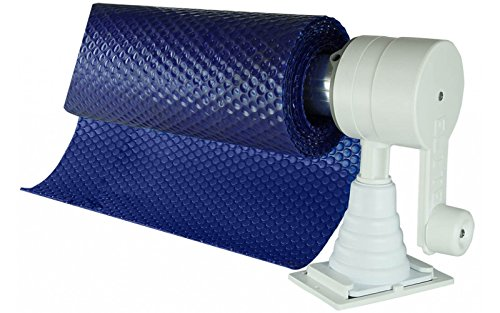Horizon HV Deluxe Above Ground Pool Solar Cover Reel - Up to 18 ft. Wide