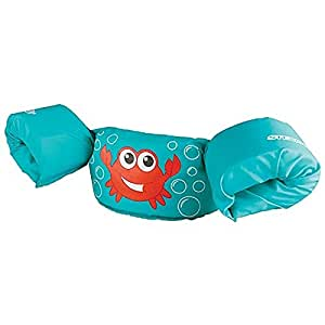 Stearns Puddle Jumper Basic Life Jacket,  Blue Crab, 30-50 lbs