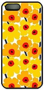 Yellow Flower Theme Iphone 5 5S Case