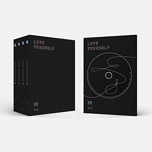 Bts Love Yourself Tear Set with Official Poster (4 Version)