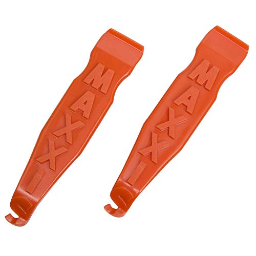 Maxxis MTB Road BMX bike Tire Tyre Lever Set (x2 single levers) Orange