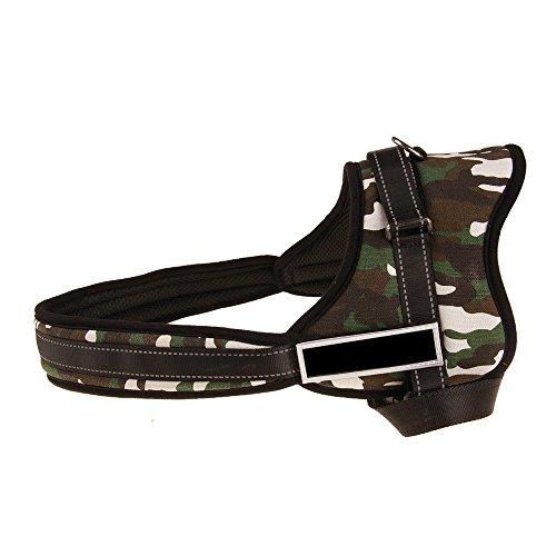 Hpapadks Explosion-Proof Training Dog Chest Strap Large Dog Adjustable Pet Dog Belt Nylon Chest Strap Pet Dog Nylon Dog Collars