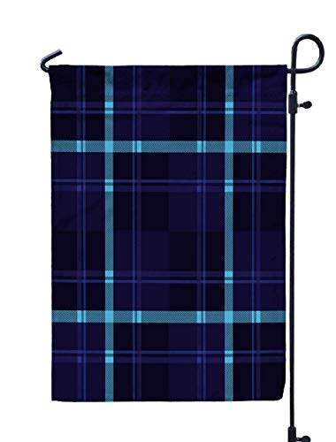 Shorping Thanksgiving Garden Flag, 12x18Inch for Holiday and Seasonal Double-Sided Printing Yards Flags Seamless Plaid Lumberjack and Buffalo Check Pattern Tartan and Gingham p -