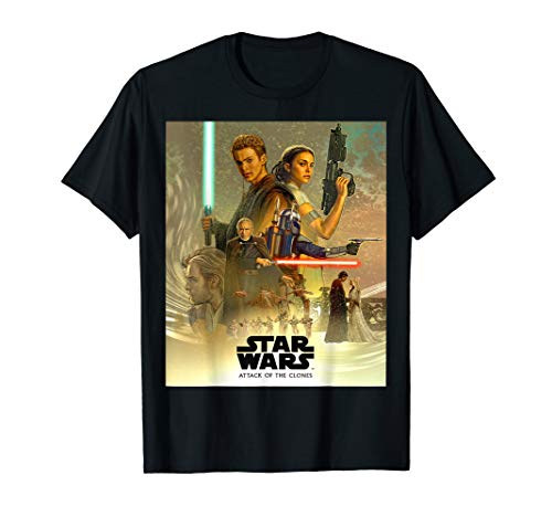 Star Wars Celebration Attack of the Clones Mural T-Shirt