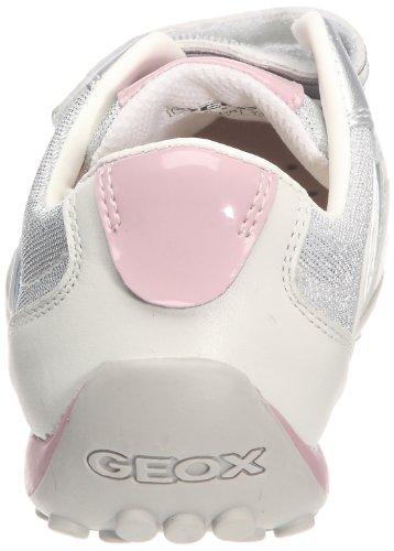 Geox Zapatillas Snake Blanco / Plata