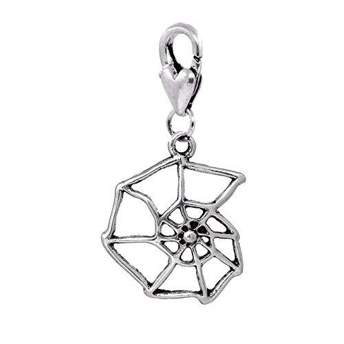 Jewelry Making Supplies Spider Web Cobweb Halloween Theme