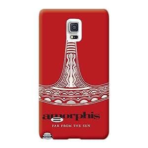 CristinaKlengenberg Samsung Galaxy Note 4 High Quality Hard Phone Case Custom Lifelike Amorphis Band Pattern [Rer8381kMlY]