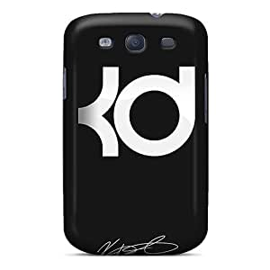 JohnPrimeauMaurice Samsung Galaxy S3 Perfect Hard Phone Covers Allow Personal Design Fashion Kevin Durant Pattern [AtG12860lTIF]