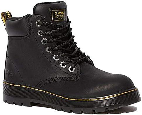 Dr. Martens Men's Winch Steel Toe Light Industry Boots