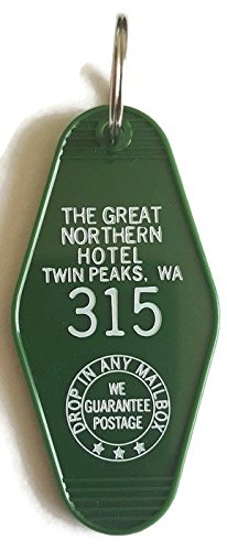 The Great Northern Hotel Room # 315 Twin Peaks Inspired Key Tag ()