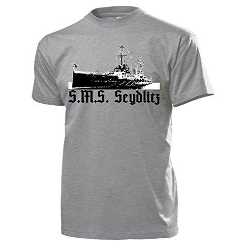(SMS Seydlitz Large Cruiser Battlecruiser Imperial Navy Moltke class ship)