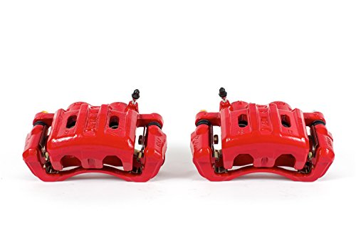 Power Stop S4670A Power-Coated Red Performance Caliper, Pair