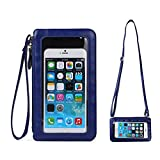 Cell Phone Crossbody Bag with Touch Screen Clear