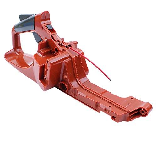 (Gas Fuel Tank Rear Handle Assembly for Husqvarna 445 450 E 445E 450E Gasoline Chain Saw 525862104)