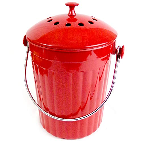 Natural Home Products WP81 1 Gal Red Moboo Compost Bin