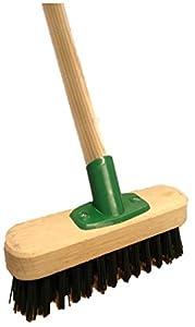 9 stiff heavy duty long handled scrubbing brush deck. Black Bedroom Furniture Sets. Home Design Ideas