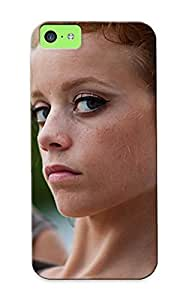 FlQhIur4147WSzkY Redhead Face Taoos Piercings Mood Jewelry Marijuana Weed Drugs Culture Face Eyes 420 Women Females Girls Sexy Babes Awesome High Quality Iphone 5c Case Skin/perfect Gift For Christmas Day