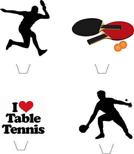 novelty-table-tennis-ping-pong-mix-12-edible-stand-up-wafer-paper-cake-toppers-5-10-business-days-de
