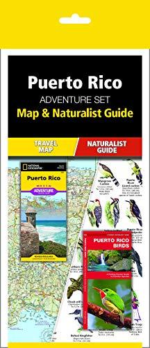 Puerto Rico Adventure Set: Trail Map & Wildlife Guide...