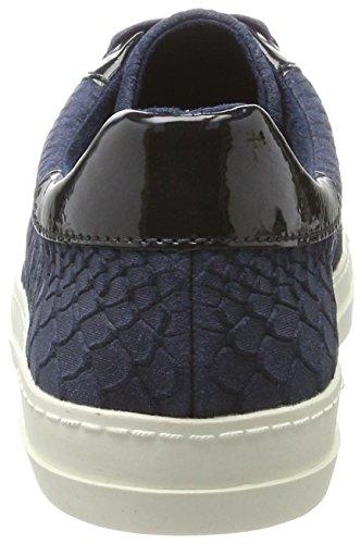 Tamaris Damen 23603 Sneaker Blau (struttura Navy)