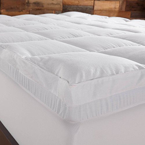 Sleep Innovations 4 In Dual Layer Mattress Topper Gel