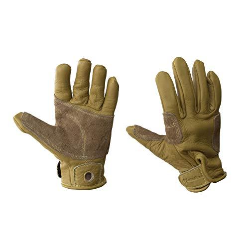 Metolius Belay Glove Full Finger - Natural - Small ()