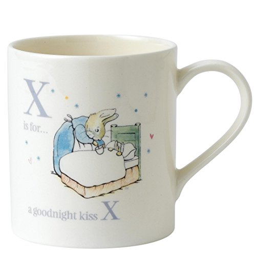 Enesco Peter Rabbit Alphabet Mug - (X) Goodnight Peter Rabbit Mug - A27332 ()