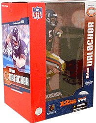 McFarlane Toys NFL Sports Picks Deluxe 12 Inch Action Figure Brian Urlacher (Chicago Bears) Blue - Bears Brian Urlacher Jersey