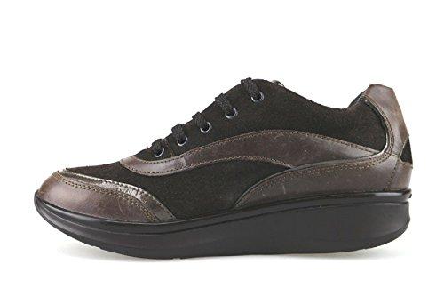 EU 36 AJ434 sneakers 6 Suede STONEFLY Leather Woman US Brown n7PwFn4qzx