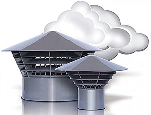 M/áscarade ventilaci/ón techo sistema original sistemas de apertura de 160 DN//150 para montaje en el tubo salida de aire 150 mm