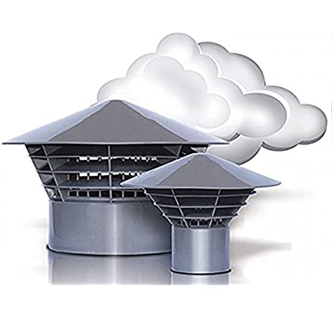 Máscarade ventilación - salida de aire - techo sistema original sistemas de apertura de 160 DN/150 para montaje en el tubo (150 mm): Amazon.es: Bricolaje y herramientas