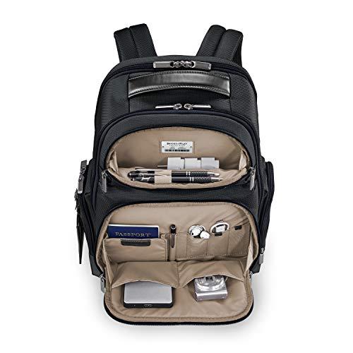 Briggs & Riley @work Medium Cargo Backpack, Black by Briggs & Riley (Image #3)