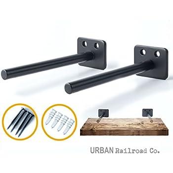 Solid Steel Floating Shelf Brackets