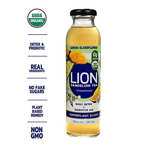 LION Dandelion Tea Antioxidants Elderflower