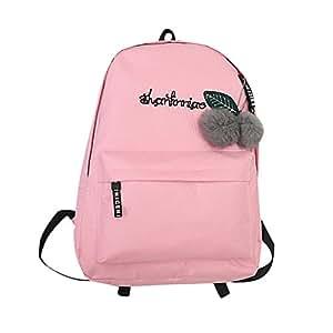 GiveKoiu-Bags - Mochilas de Viaje para niñas para la Escuela, Baratas, Unisex, con Hombros, Infantil, 2019846, Rosa, Tamaño Libre: Amazon.es: Deportes y ...