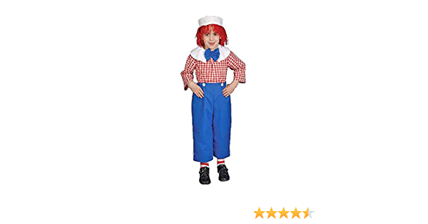 Dress Up America Deluxe Rag Boy Costume Set Fancy Dress Costume