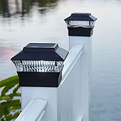 Brylanehome Solar Fence Post Light