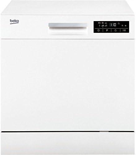 Beko DTC36810W Encimera 8cubiertos A+ lavavajilla - Lavavajillas ...